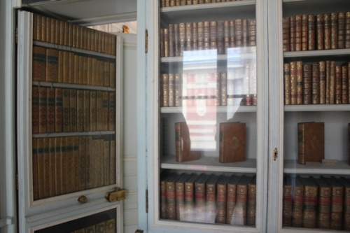 The secret passage from Marie Antoinette's Library