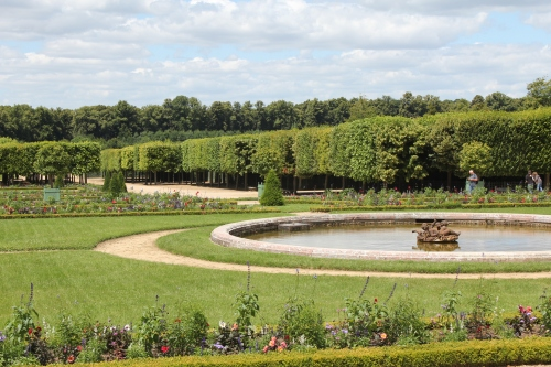 View of gardens from the Grand Trianon