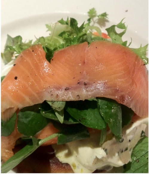 Smoked Salmon at Friends of Mine, Richmond