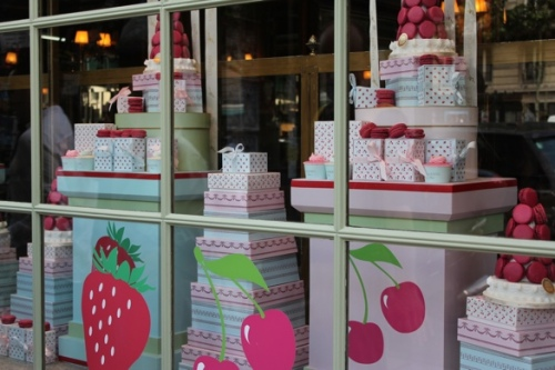 Laduree window in Paris