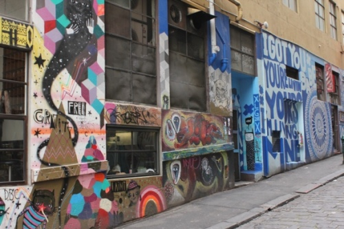 Hosier Lane Street Art, Melbourne