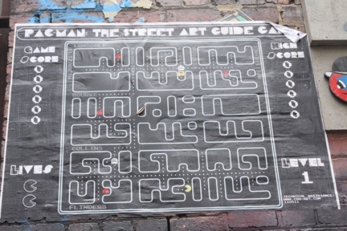Pacman: The street art guide, Melbourne