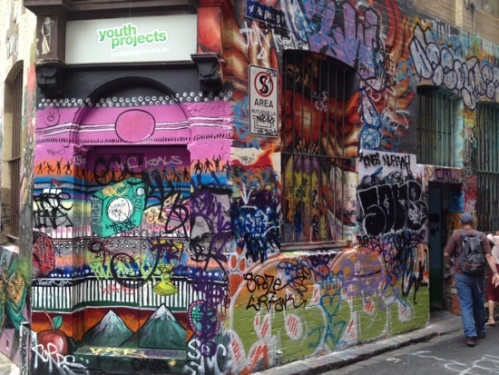 Youth Projects Building, Hosier Lane, Melbourne