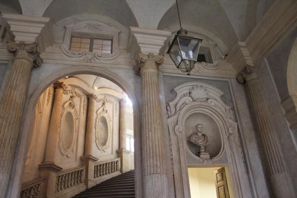 Stairway in Palazzo Carignano