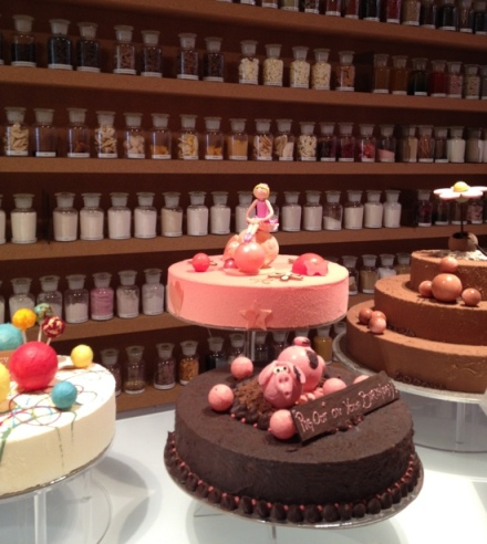 Birthday cakes at Burch & Purchese Sweet Studio, Melbourne