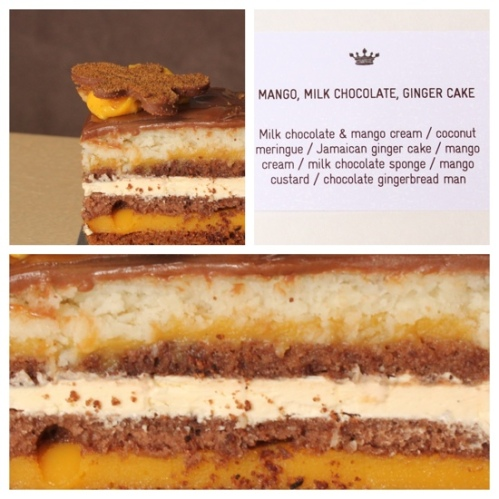 Mango, Chocolate and Ginger Cake at Burch & Purchese Sweet Studio, Melbourne