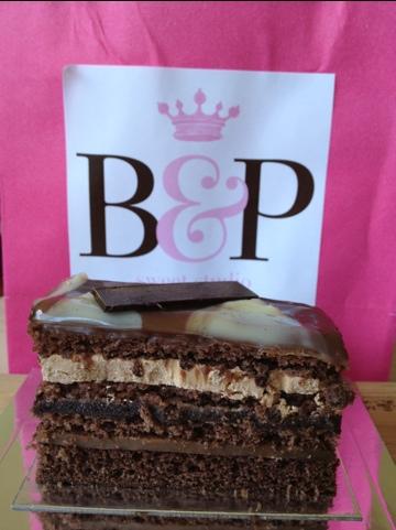 Triple Chocolate cake at Burch & Purchese Sweet Studio, Melbourne